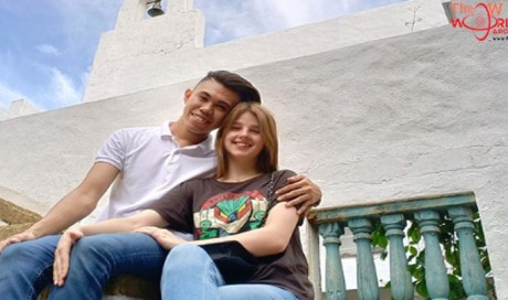 Woman flies 5,000 miles across the world to meet her Pinoy boyfriend