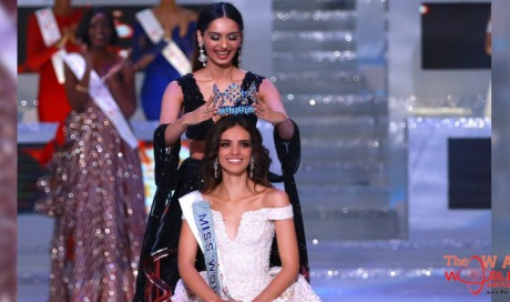 Miss Mexico Venessa Ponce De Leon crowned as Miss World 2018