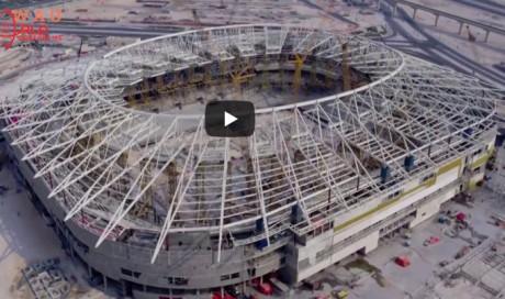 Qatar reveal construction progress of the World Cup 2022 Stadiums