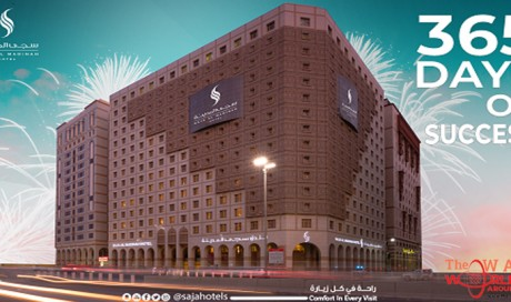 Saja AlMadinah Hotel Celebrates its First Anniversary