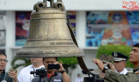 Philippines cheers return of church bells seized by US 117 years ago