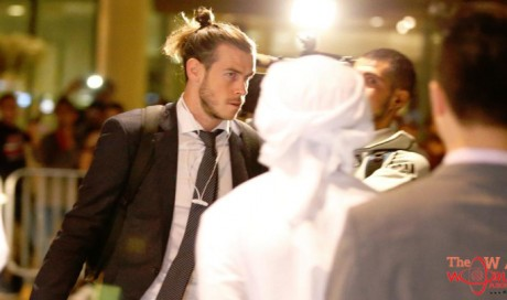 Real Madrid arrive in Abu Dhabi for Fifa Club World Cup