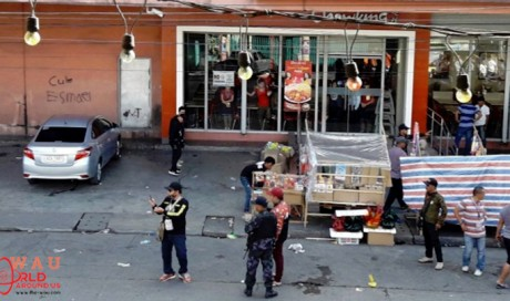2 dead, 23 wounded in blast outside Philippines shopping mall