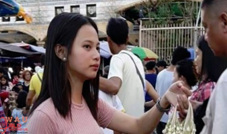 Pretty Filipina flower vendor is breaking the internet
