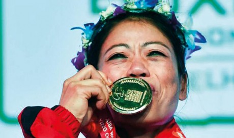 India's Mary Kom becomes world's top woman boxer