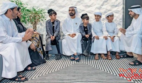 Four children in UAE skip classrooms to learn life lessons