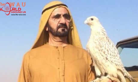 When Sheikh Mohammed walked in the desert without food or water