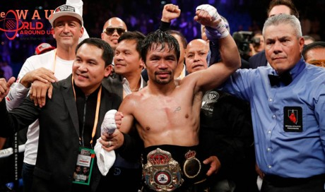 Manny Pacquiao vs. Adrien Broner fight results; PacMan scores unanimous decision win