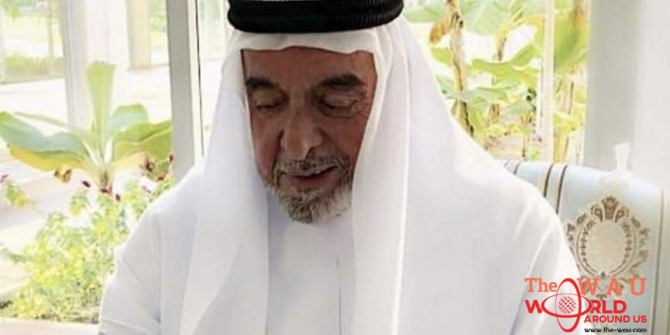 Sheikh Khalifa meets newborn grandchild in adorable picture