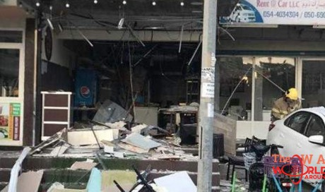Five injured as gas cylinder explodes in UAE cafeteria