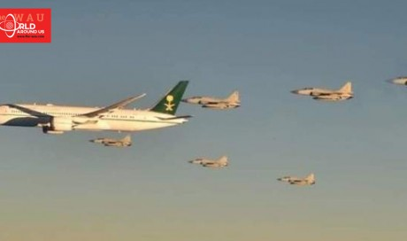 Video: Pakistan Air Force fighter jets escort Saudi Crown Prince