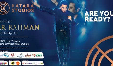 A R Rahman Music Performance As a Part of Qatar-India Year of Culture 2019