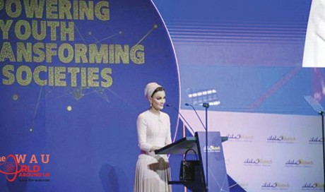 3 mn jobs for youth worldwide by 2022, says Sheikha Moza