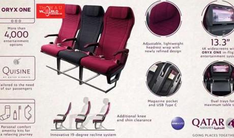 Qatar Airways unveils new Economy Class seat & experience