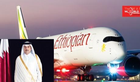 Qatar Amir condoles with Ethiopian President & PM