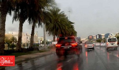 Strong winds, scattered rain forecast until weekend in Qatar