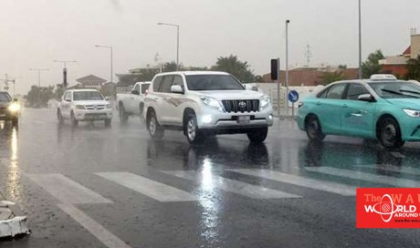 Thunderstorms and heavy rain predicted until Saturday evening