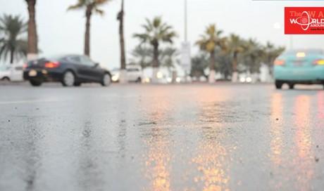 Scattered light rain forecast for Friday