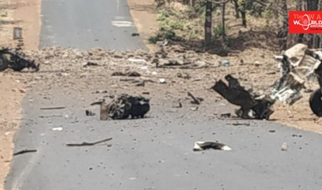 15 security personnel killed as militants blow up vehicle in India