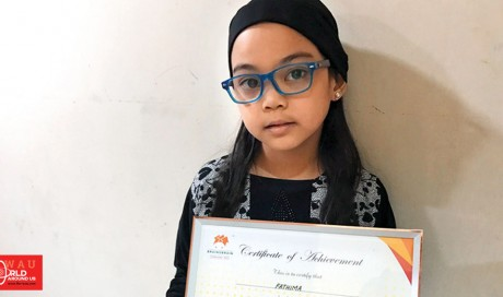 Video: Fathima, a talented six-year-old Filipino girl abandoned in the UAE, wants to go to school