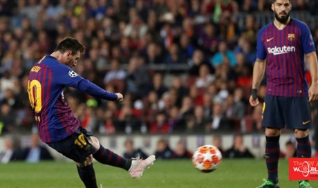 'This guy is a god': Fans react to Messi's majestic free-kick as Barca star hits 600th goal