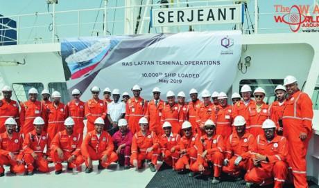 Qatargas achieves new milestone with 10,000th ship loading at RLTO