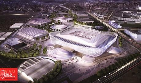 Architectural wonder... Al Rayyan Stadium tells the story of Qatar