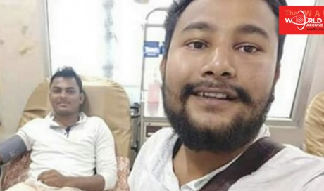 Indian Muslim man breaks fast to donate blood to Hindu patient