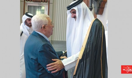 Abbas thanks Amir for Qatar's support to Palestinians