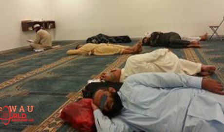 Sleeping in mosques not allowed – Place of worship, not housing