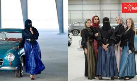 Glitzy, ritzy, niqabi: Meet 'Amy Roko', a fully veiled Saudi fashion model