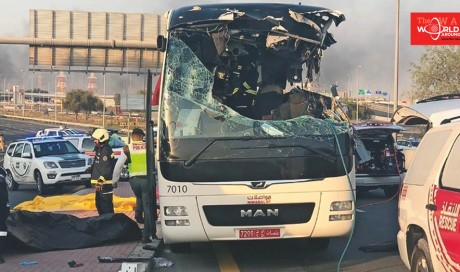 Dubai bus crash: Families devastated, survivors horrified