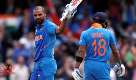 Shikhar Dhawan ruled out of ICC World Cup for three weeks
