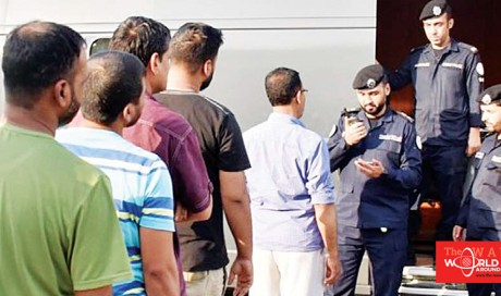 232 Expats referred to deportation center, several more held in security raids