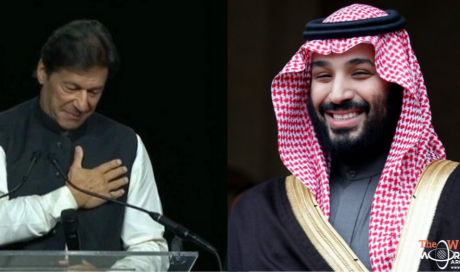 Saudi Crown Prince Mohammed bin Salman Saves Imran Khan From Embarrassment