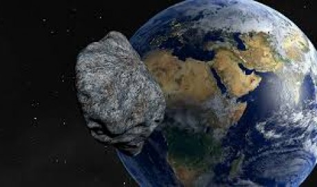 AsteroidScientists Simulate Unmanned Aircraft Striking, Deflecting Asteroid From Earth