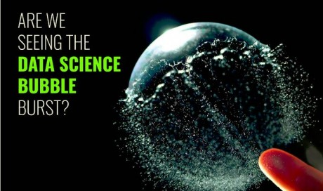 ARE WE SEEING THE DATA SCIENCE BUBBLE BURST?