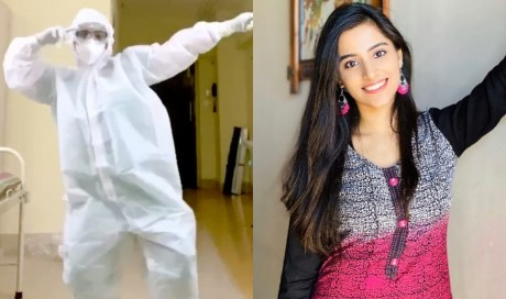 Trending: Doctor dancing to Nora Fatehi-Varun Dhawan\\\'s \\\'Garmi\\\' song wearing PPE kit goes viral - Watch