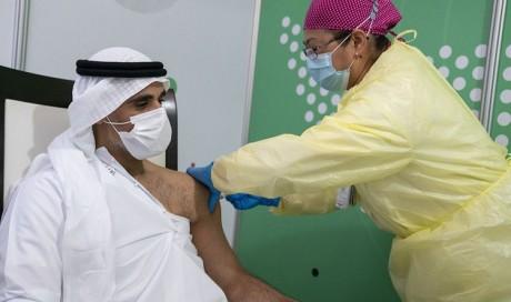 Frontline workers in Abu Dhabi begin receiving COVID-19 vaccine