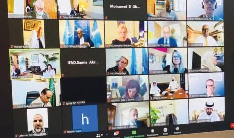 Qatar participates in IFAD meeting