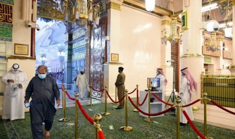 Saudi Arabia reopens Rawdah for worshippers at Prophet's Mosque