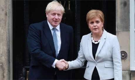Boris Johnson \'called Scottish devolution disaster\'