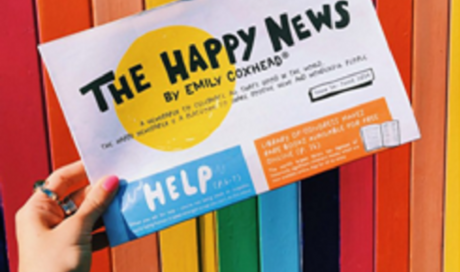 THE HAPPY NEWSPAPER - sprinkling a tiny bit of happiness all over the planet