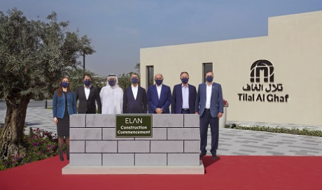 Construction Work Starts on the Iconic Elan Neighbourhood in 'Tilal Al Ghaf'
