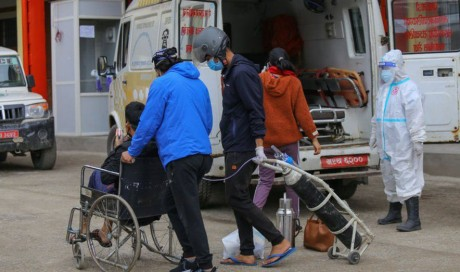 As India halts vaccine exports, Nepal faces its own Covid crisis