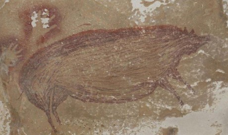 Climate change destroying world's oldest animal painting