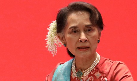 Myanmar junta-appointed electoral body to dissolve Suu Kyi party