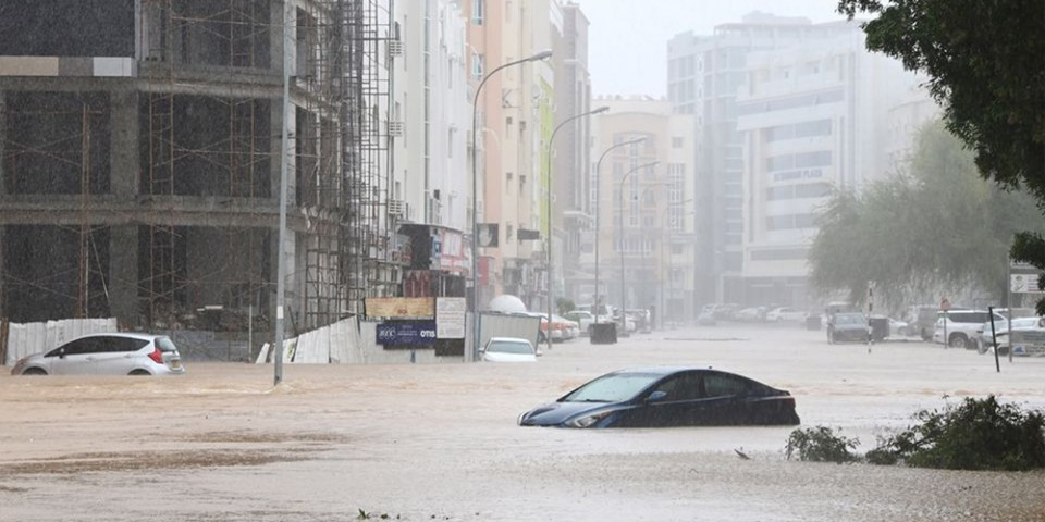 Cyclone Shaheen hits Oman with ferocious winds and killing four
